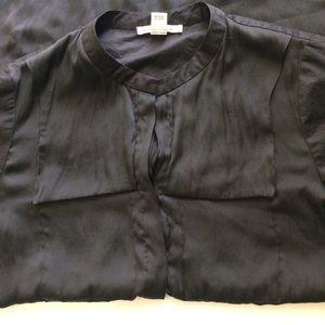 Kenneth Cole Dresses - Kenneth Cole  Black Shirt Dress Size 14 EUC